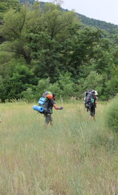 Hiking along the Azgilli – Javadkhan trail