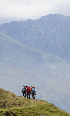 Hiking along the Javadkhan peak – Chiragli trail