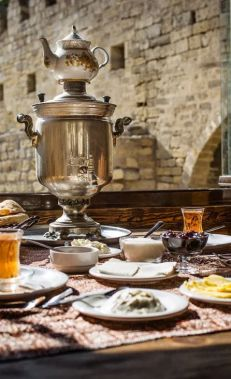 Dining in Baku