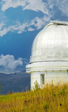 Stargazing at Shamakhi Astrophysical Observatory