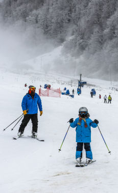 Skiing at Tufandag Mountain Resort