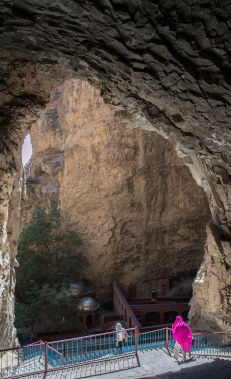 Visit the Ashabi Kehf Cave
