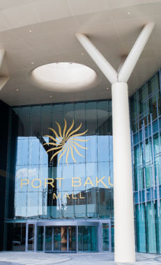 Shop and socialise in the Port Baku area
