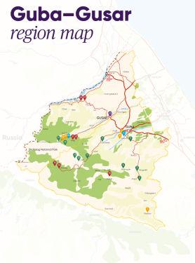 Guba-Gusar regional map