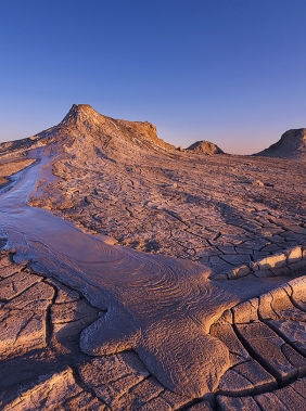 Explore Baku's mud volcanoes