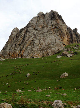 Discover the mysteries of Beshbarmag Mountain
