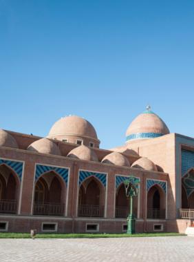 Visit the Imamzadeh Mausoleum in Ganja