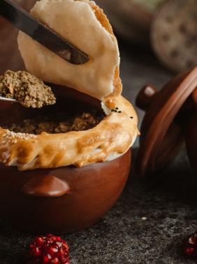 Experience Lankaran's rich local cuisine