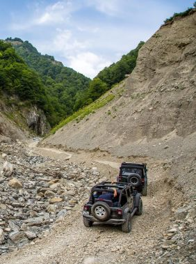 Adventures in the great outdoors in Gabala