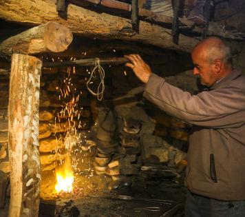 Азербайджан. Лагич - поселок мастеров.