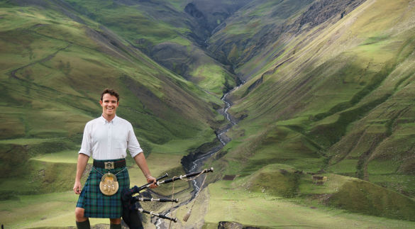 A Kilted Adventure in the Land of Fire