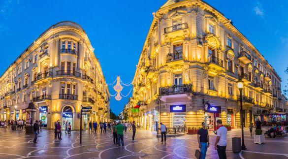 Baku's oil boom architecture