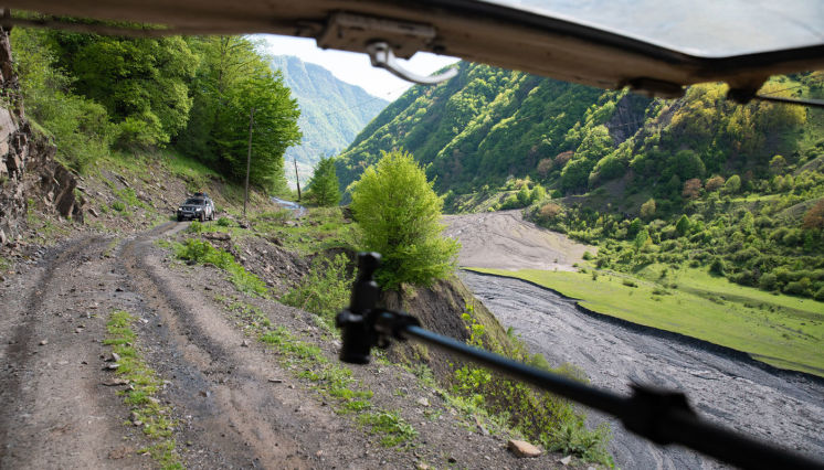 Sarıbaşda off-road turları