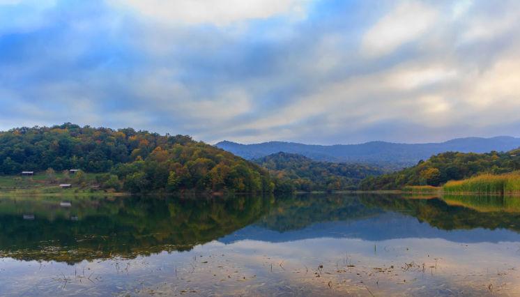 Çənlibel gölündə istirahət