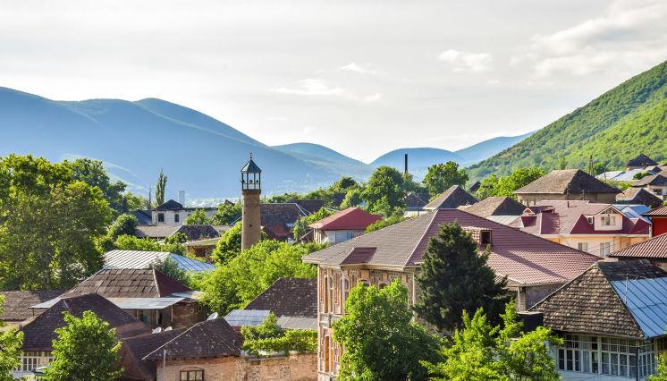Explore Sheki's old town
